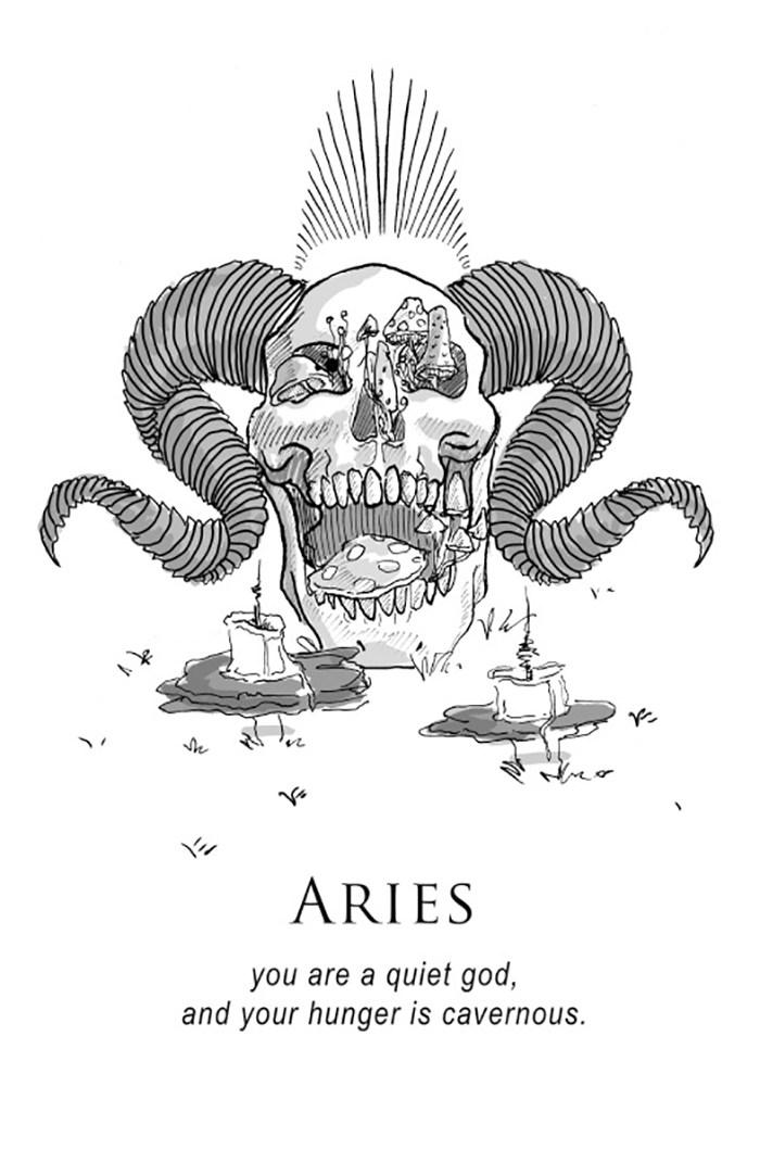 O horoscopo representado por ilustracoes bem sombrias (22 pics)