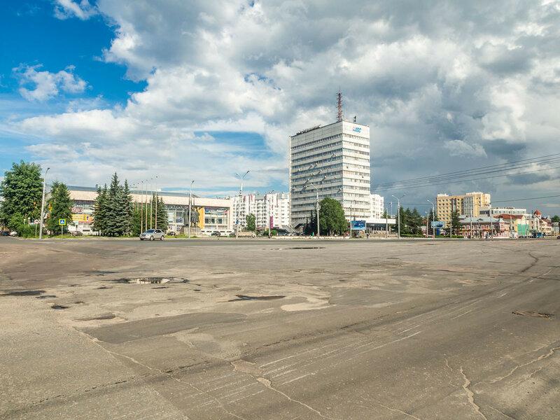 Площадь Профсоюзов.