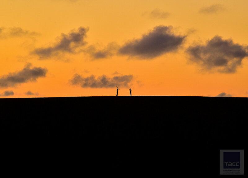 Песчаные дюны Тоттори в Японии
