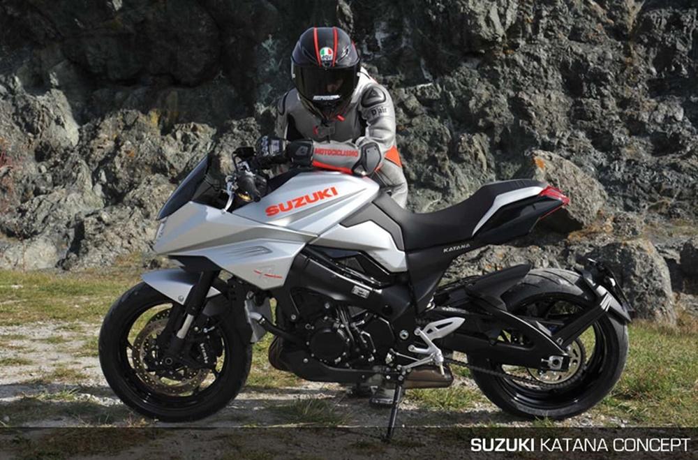 Концепт Suzuki Katana 3.0