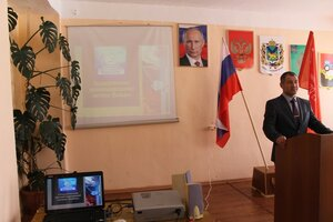 Встреча со студентами КГБ ПОУ «Чугуевский колледж сельского хозяйства и сервиса»