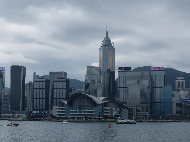 Гонконг - Причал на острове