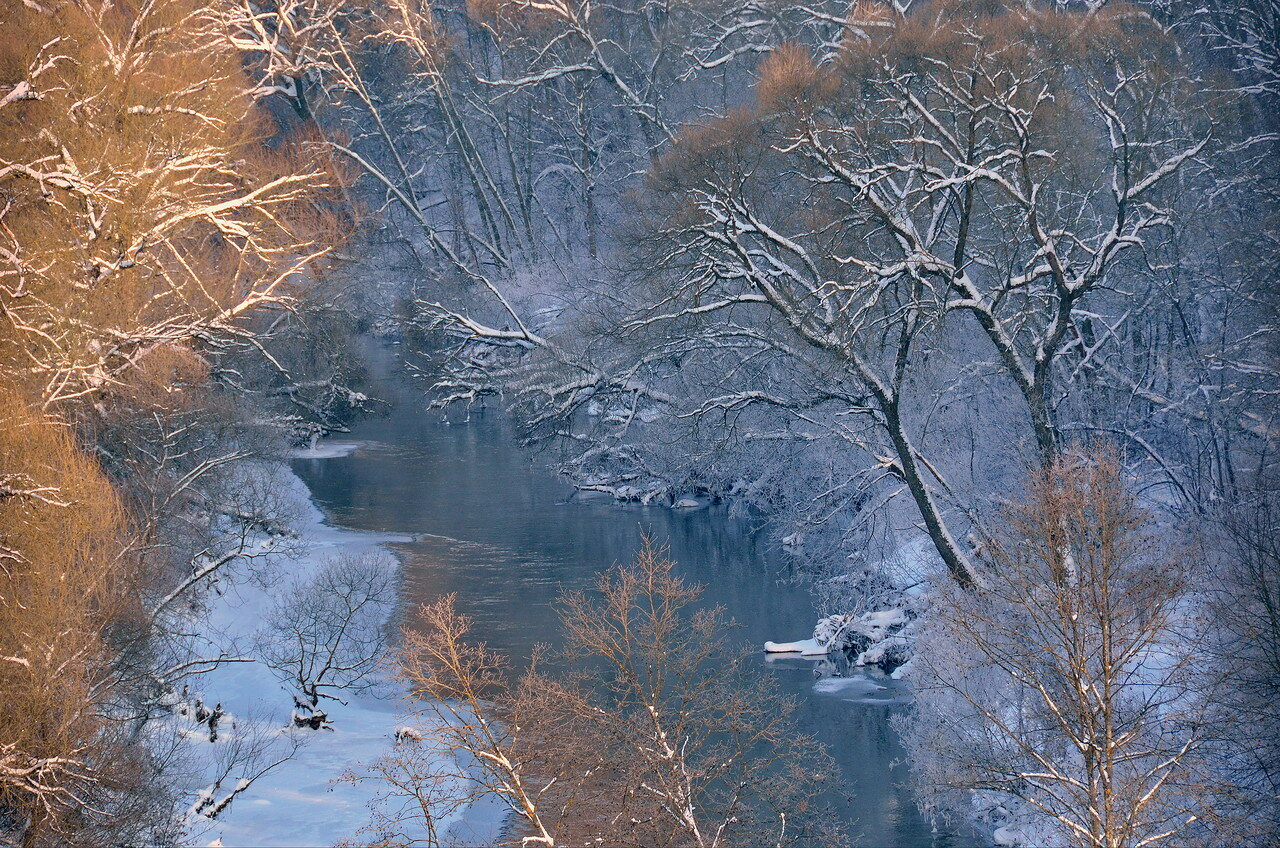 Зимнее течение