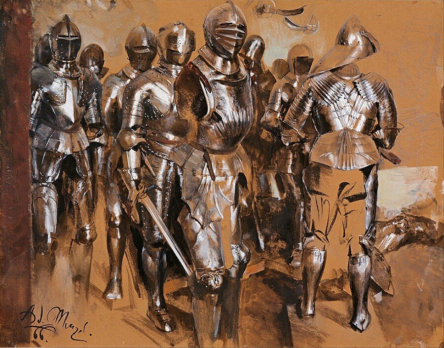 'STANDING ARMOUR (FROM THE SERIES ARMOURY FANTASIES)'