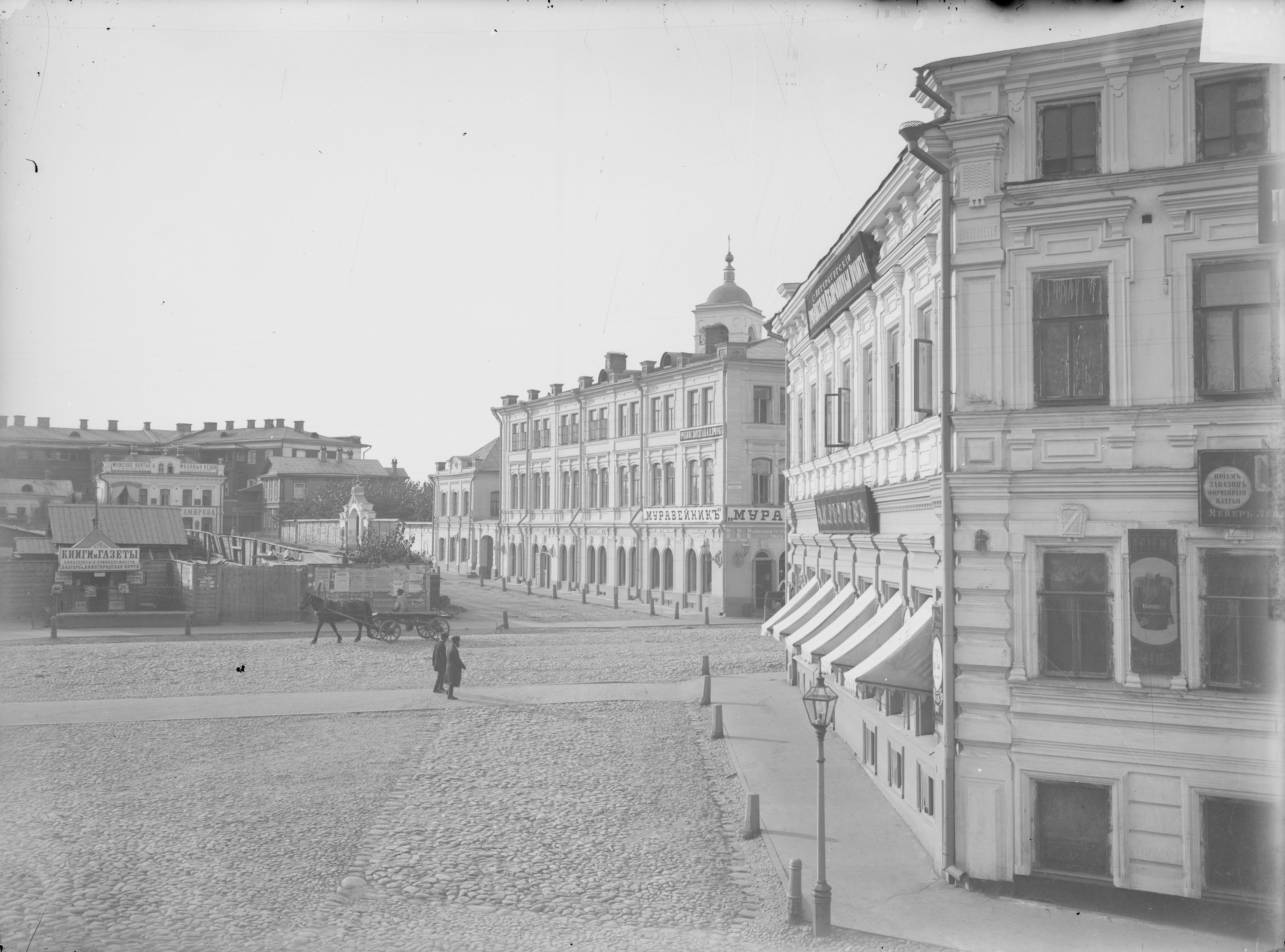 Общий вид Театральной площади