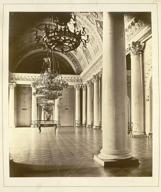 Дворец князей Юсуповых на Мойке. Белоколонный (Банкетный) зал