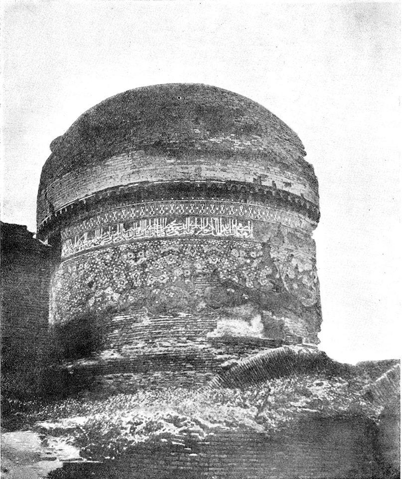 Купол над максурой медресе Барака-хана