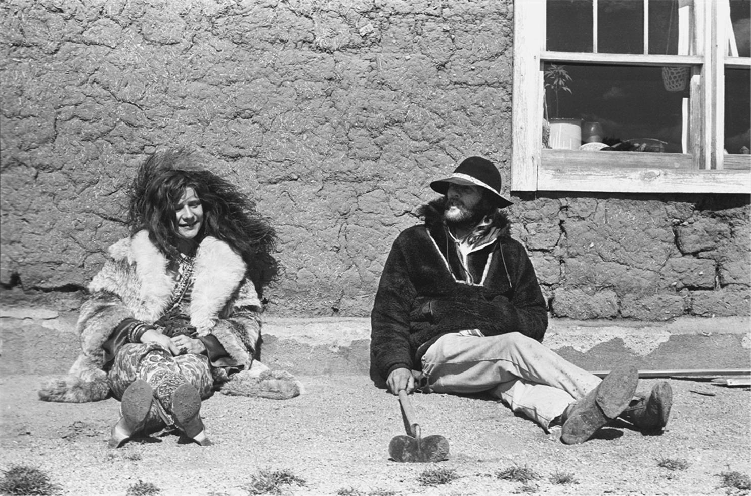 1970. Дженис Джоплин и Томми Мастерс