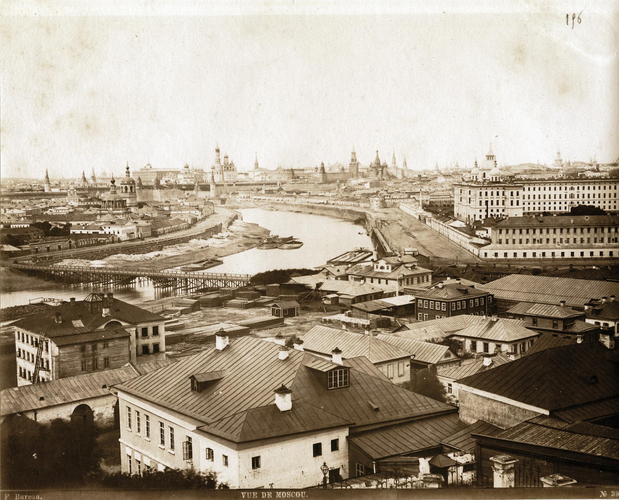 Панорама Москвы. 1870