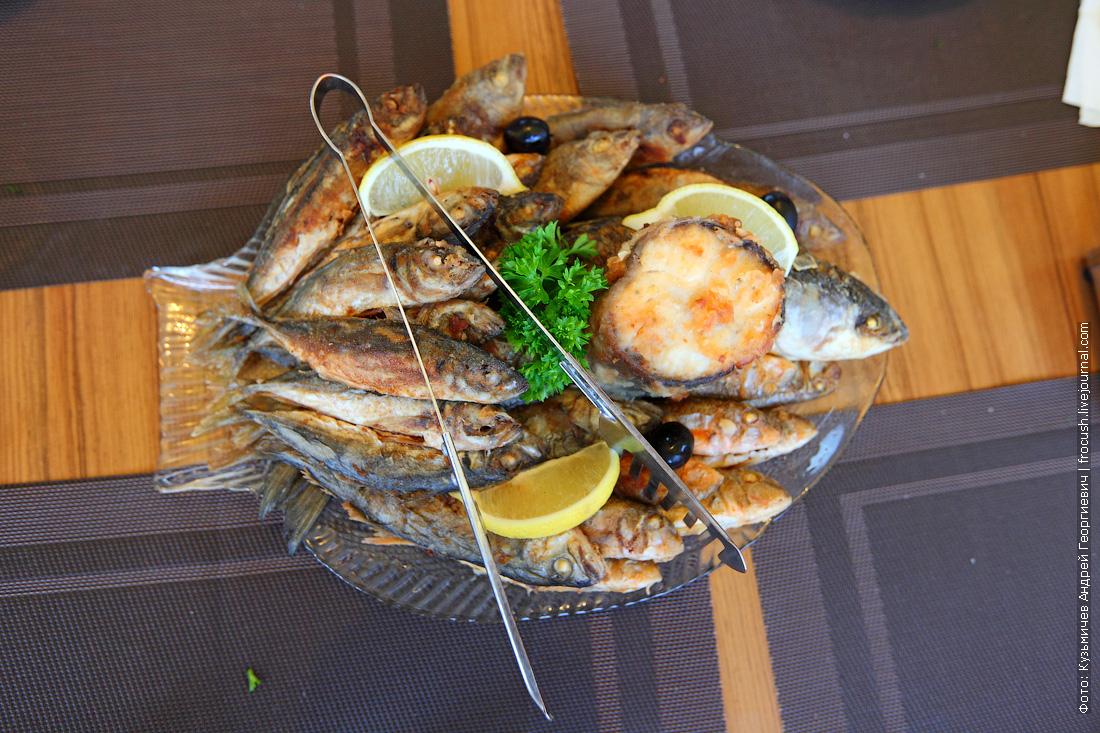 Балаклава рыбный ресторан Избушка рыбака