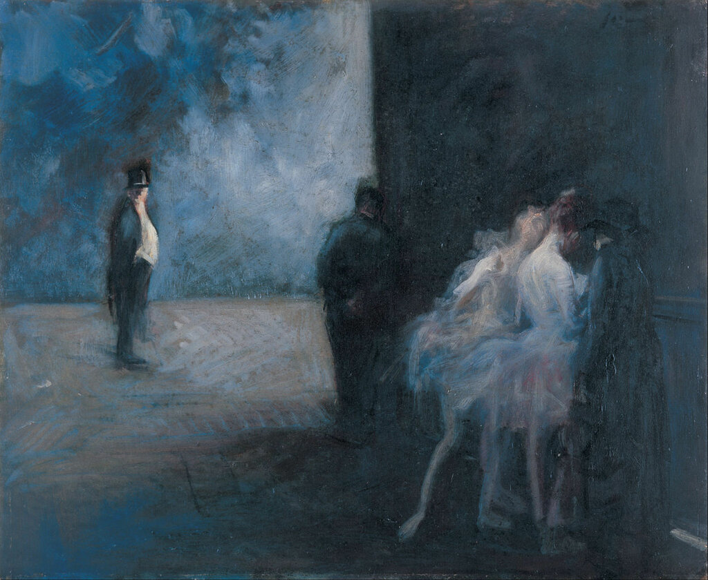 Jean-Louis_Forain_-_Backstage―Symphony_in_Blue_-_Google_Art_Project.j