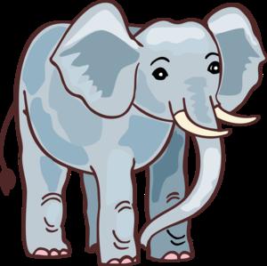 Раскраска слон для детей распечатать бесплатно