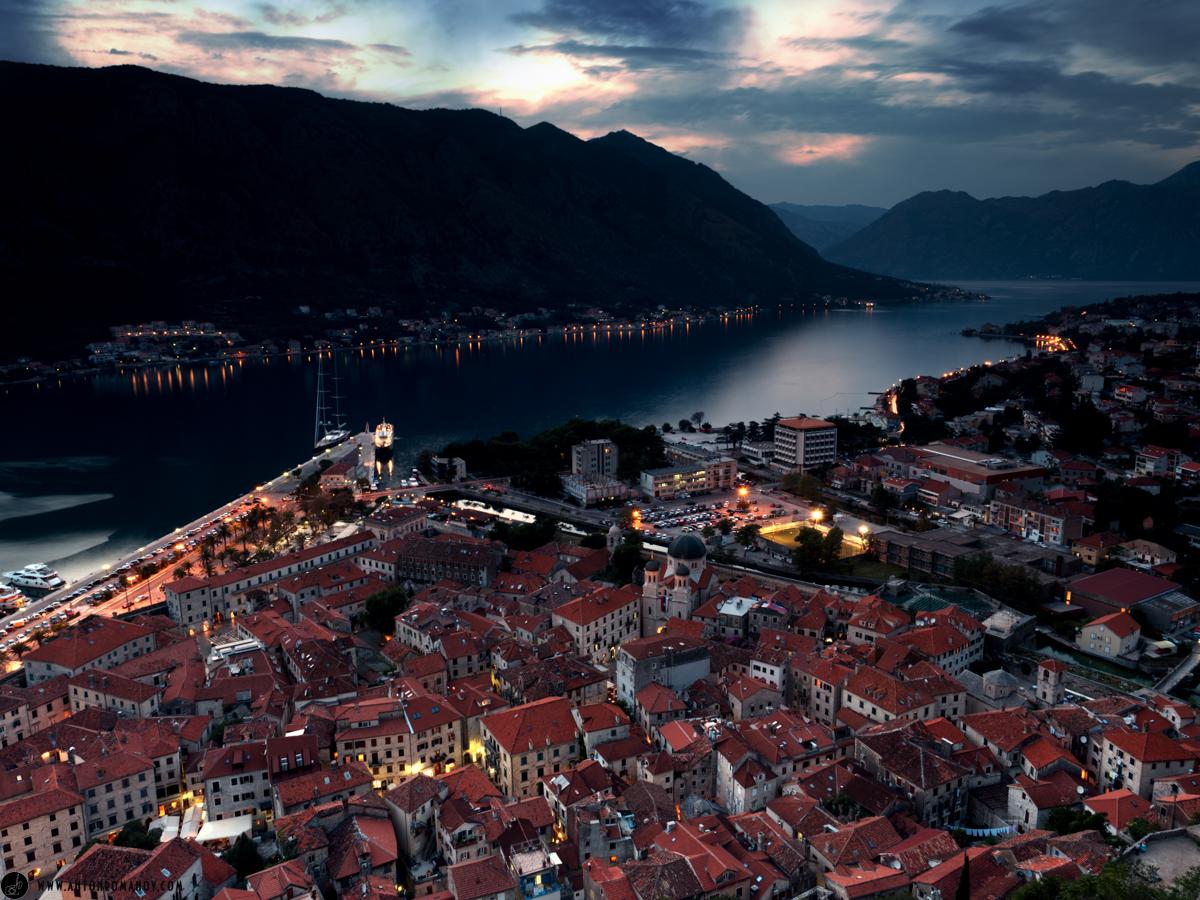 Черногория. Старый город. Крепость