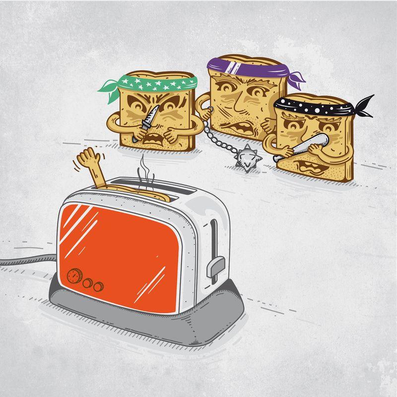 Безумные креативные иллюстрации