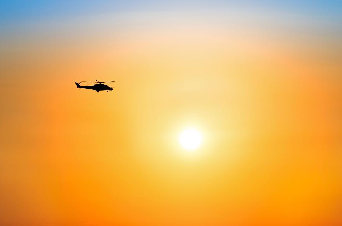 4. Над Израилем на вертолете — 277 000 руб. Из аэропорта над линией побережья, несколько кругов над