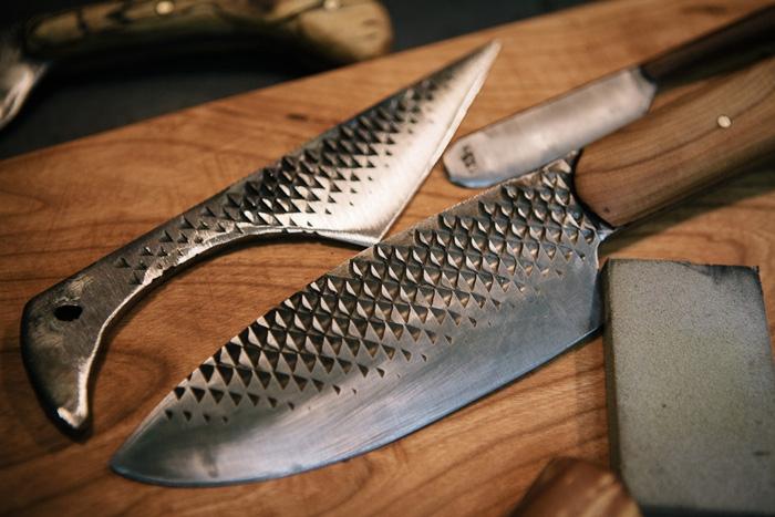 Как сделать нож из обрезка любого металла