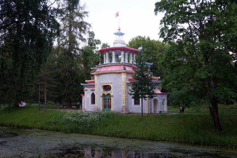 Китайская беседка в Екатерининском парке