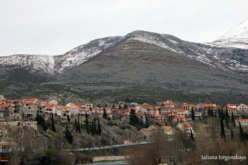 Город в начале марта