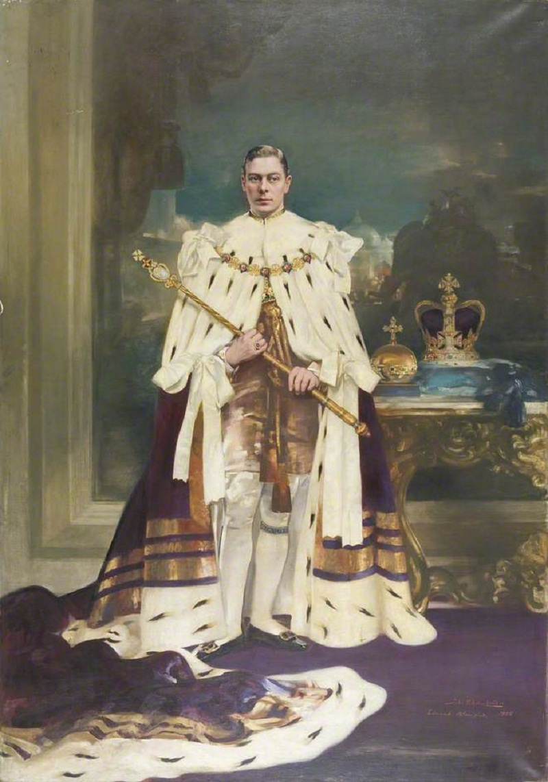King George VI (1895–1952)by John Saint-Helier Lander and Edmund Blampied
