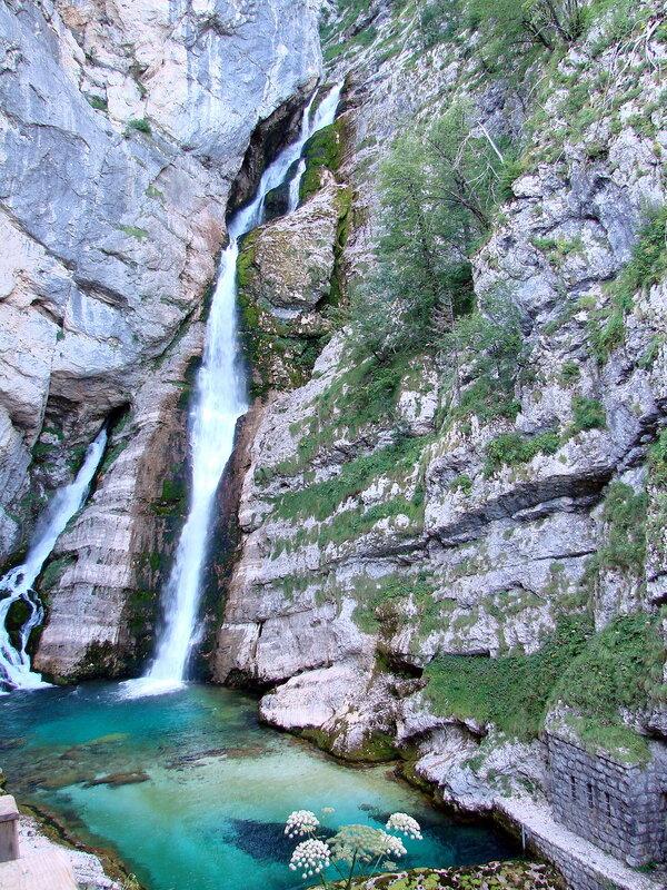Водопад Савица