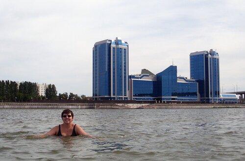 Астраханский пляж