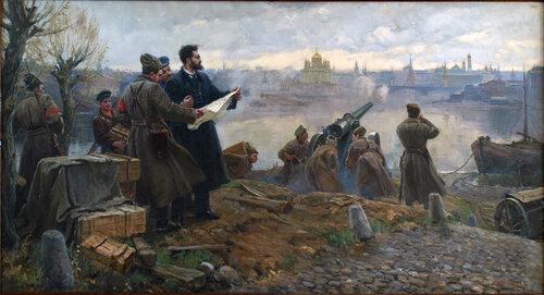 Артобстрел Кремля, 1917 год