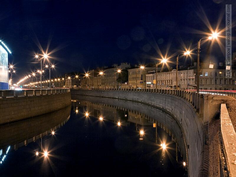 Обводный канал в месте пересечения с Московским проспектом