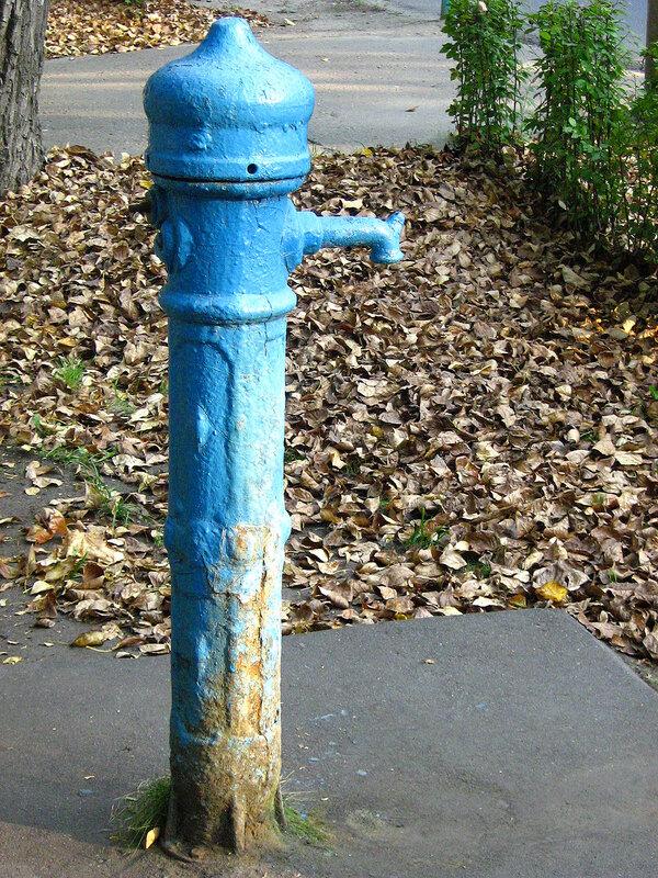 Колонка воды
