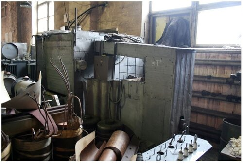 Цех по ремонту трансформаторов
