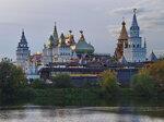 осень. озеро. ветка. вечер. измайловский кремль.