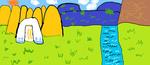 Фатхулова Светлана (рук. Абулгатина Марина Александровна) - Башкирский пейзаж