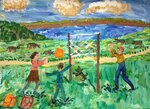 Клещева Анастасия (рук. Федорова Ирина Викторовна) - Летние каникулы