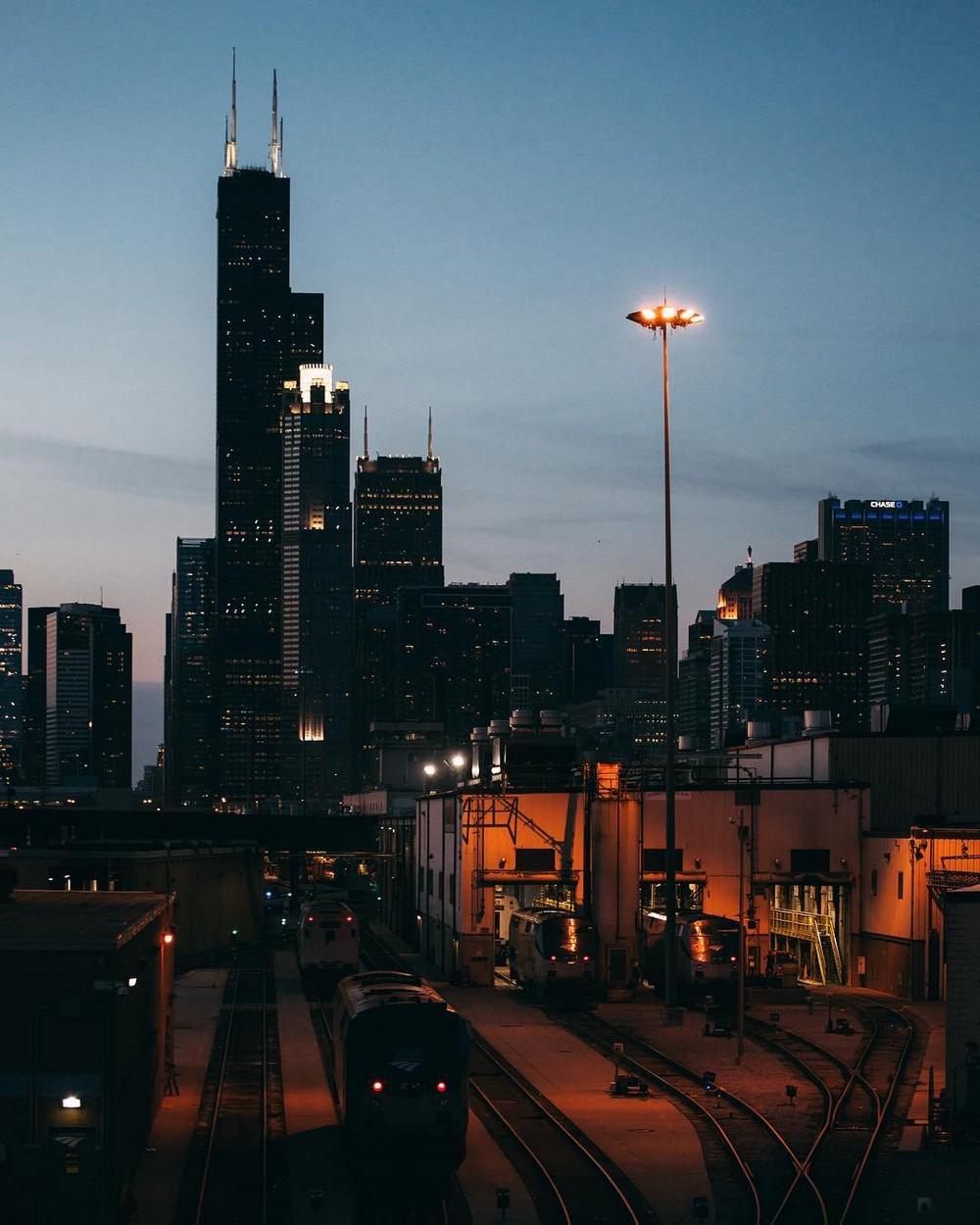 Городская архитектура на снимках Майкла Солсбери