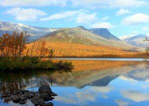 Осенние  Хибины... или... Каменная уточка...