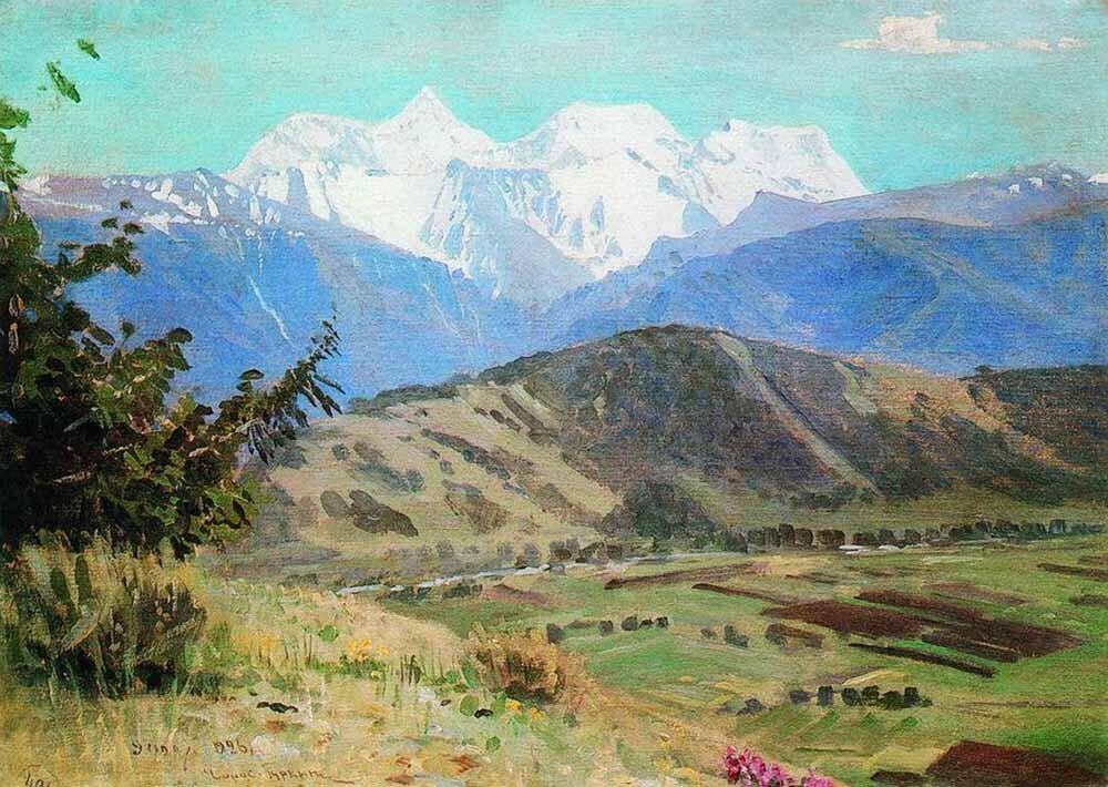 «Вид на Белуху»1926