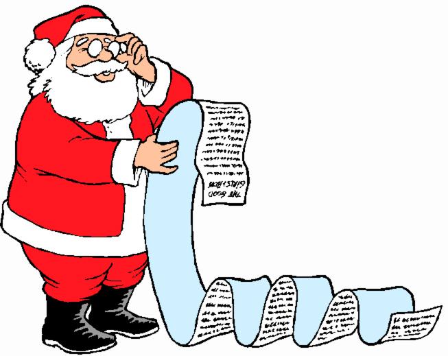 Открытка. День Рождения Деда Мороза. Поздравляю вас, дорогие