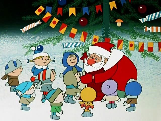 Открытки. День рождения Дедушки Мороза!