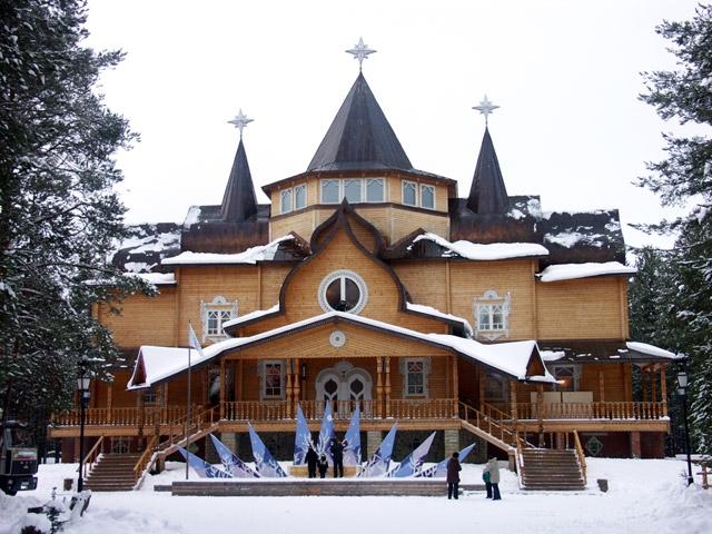 Резиденция Деда Мороза в Великом Устюге открытки фото рисунки картинки поздравления
