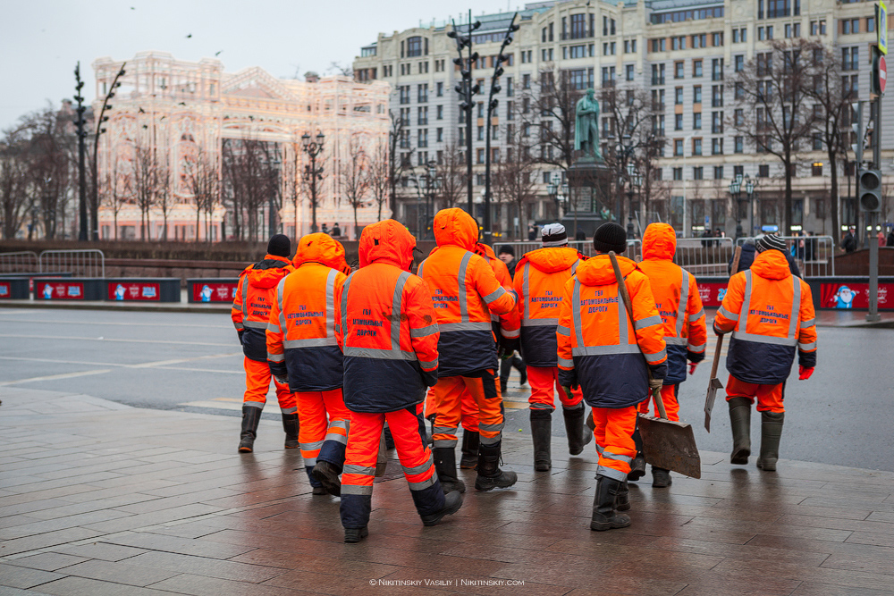 Посленовогодняя Москва