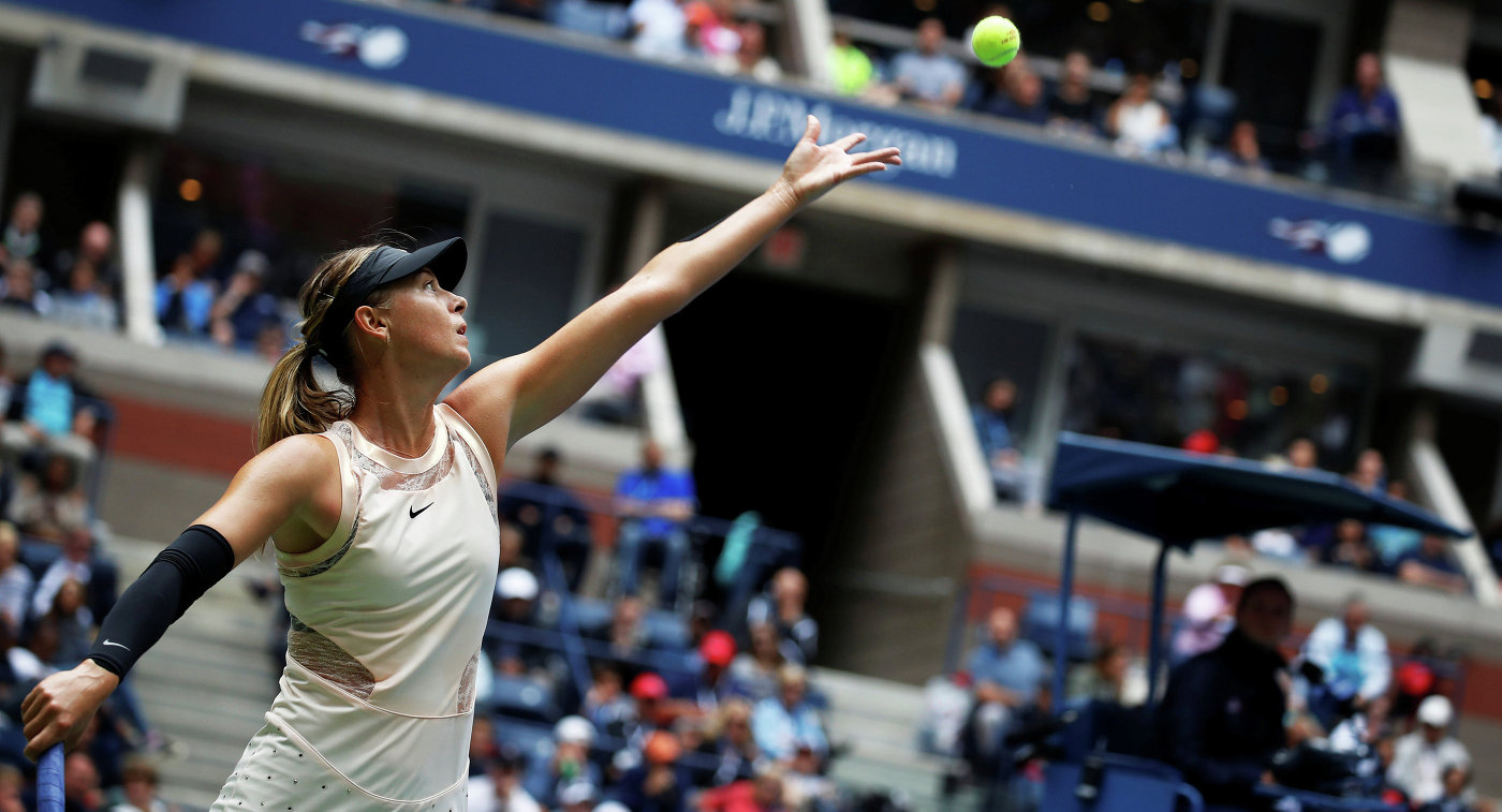 Мария Шарапова проиграла латвийской теннисистке наUS Open