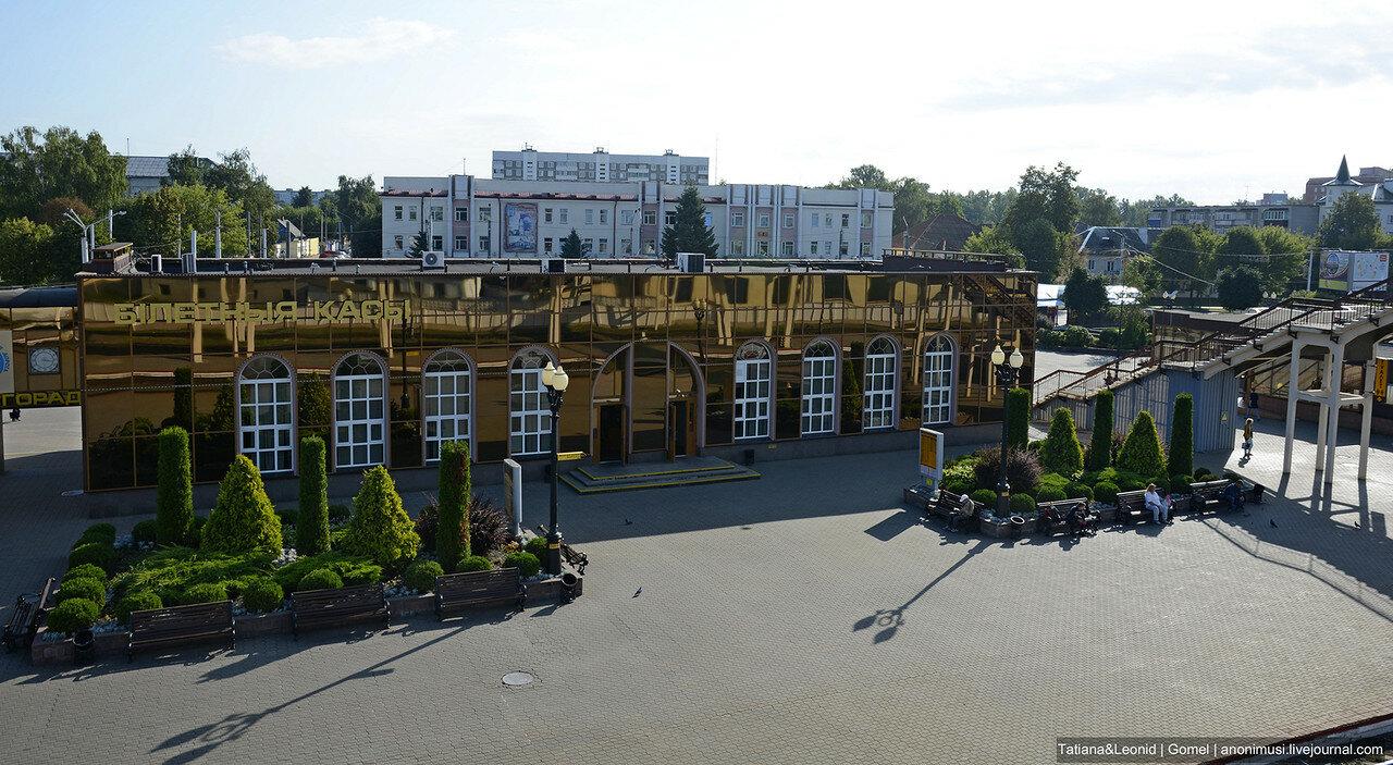 Могилевский железнодорожный вокзал