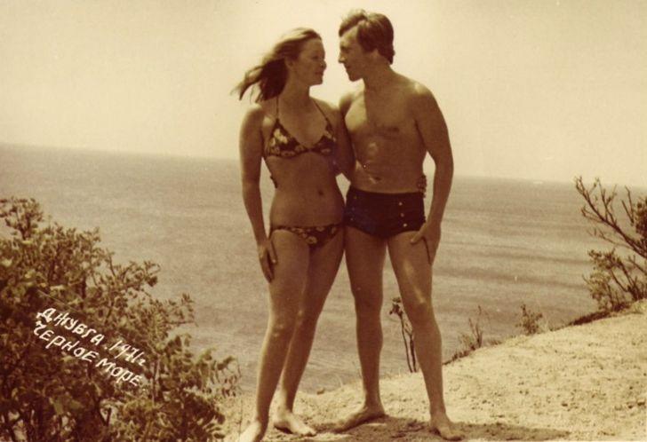 8. Владимир и Марина во время круиза по Черному морю, август 1971 года (фото из личного архива С. Де