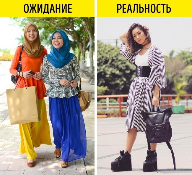 12фотографий, которые расскажут отом, как выглядят модницы вразных странах (12 фото)