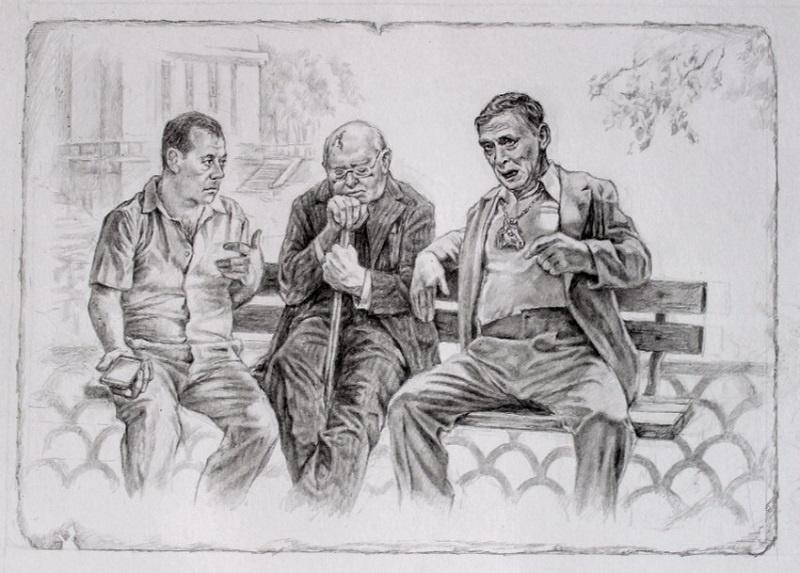 Политическая сатира на иллюстрациях к «Мастеру и Маргарите» (37 фото)