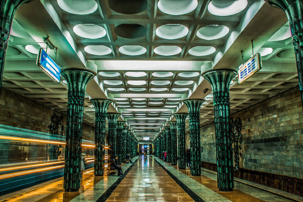 20. Станция Ташкент: