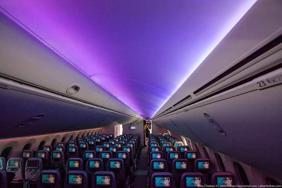 14. Светодиодное освещение Sky Interior
