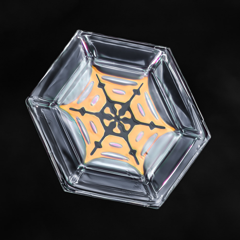 3. Во время очень сильных морозов (при температуре ниже ?30 °C) ледяные кристаллики выпадают в виде