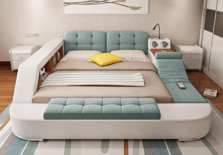 Утренняя радость: создана многофункциональная кровать, которую не хочется покидать (5 фото)