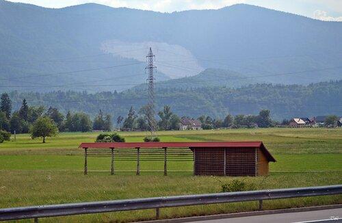 Козольцы- специальные постройки для сушки сена