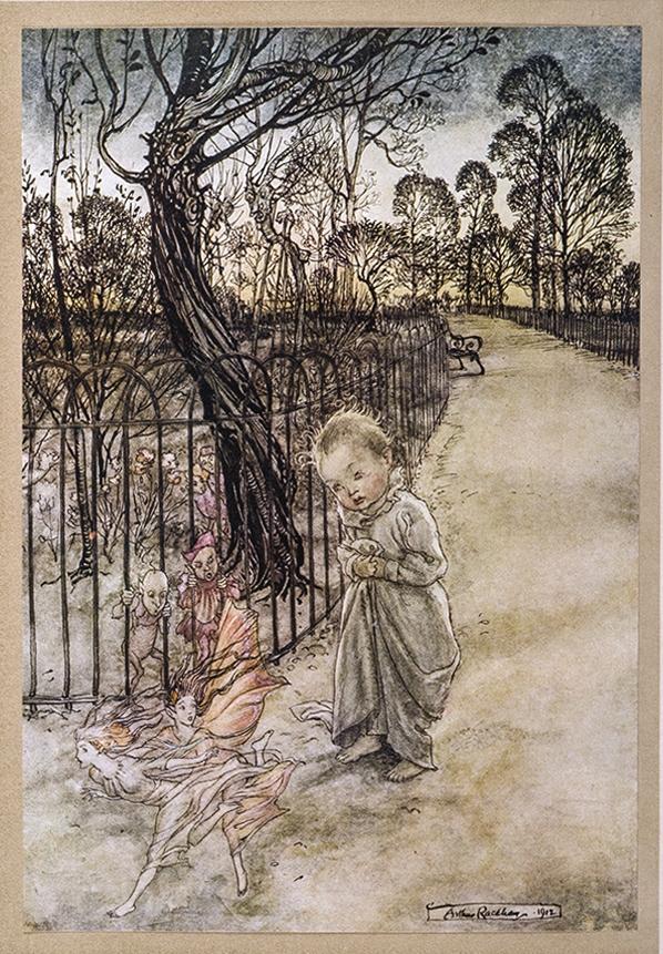 Peter Pan in the Kensington garden_ill.Rackham